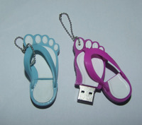 Summer Promotional Unique Design/Special Shap USB Flash Drive/Wrist Silicone USB Bracelet