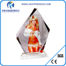 heat transfer crystal/sublimation crystal/blank photo crystal gift