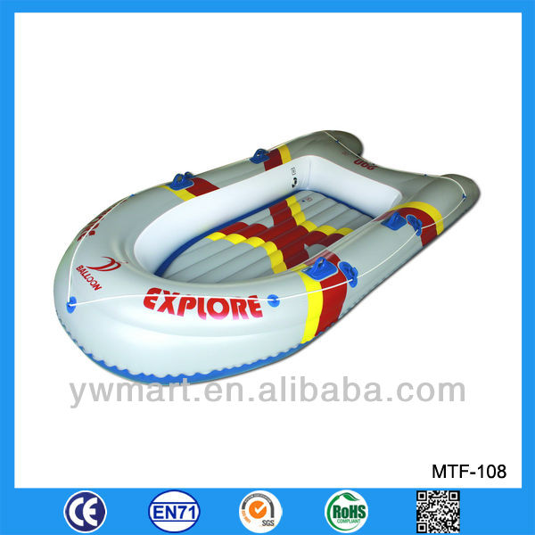 Funny inflatable rafting boat, inflatable raft fishing boat for sale