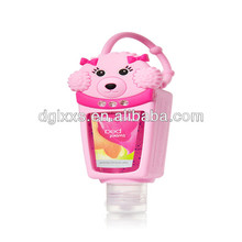wholesale silicone bath body works hand sanitizer pocketbac holder