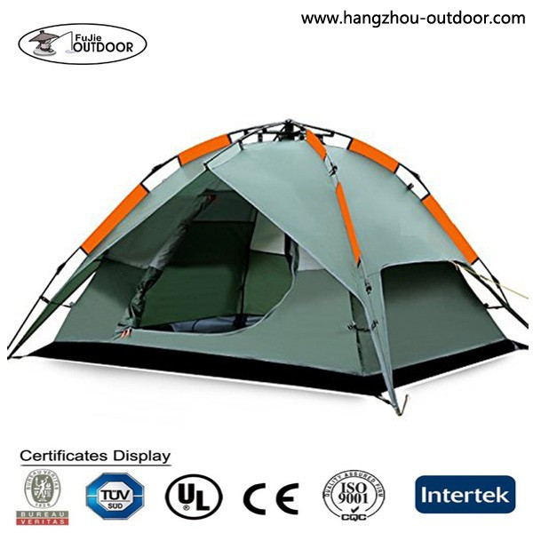 3 Seasons Instant Double Layer Dome Camping Tent for 3 Persons