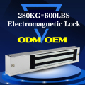 Electric cabinet magnetic lock for sliding door