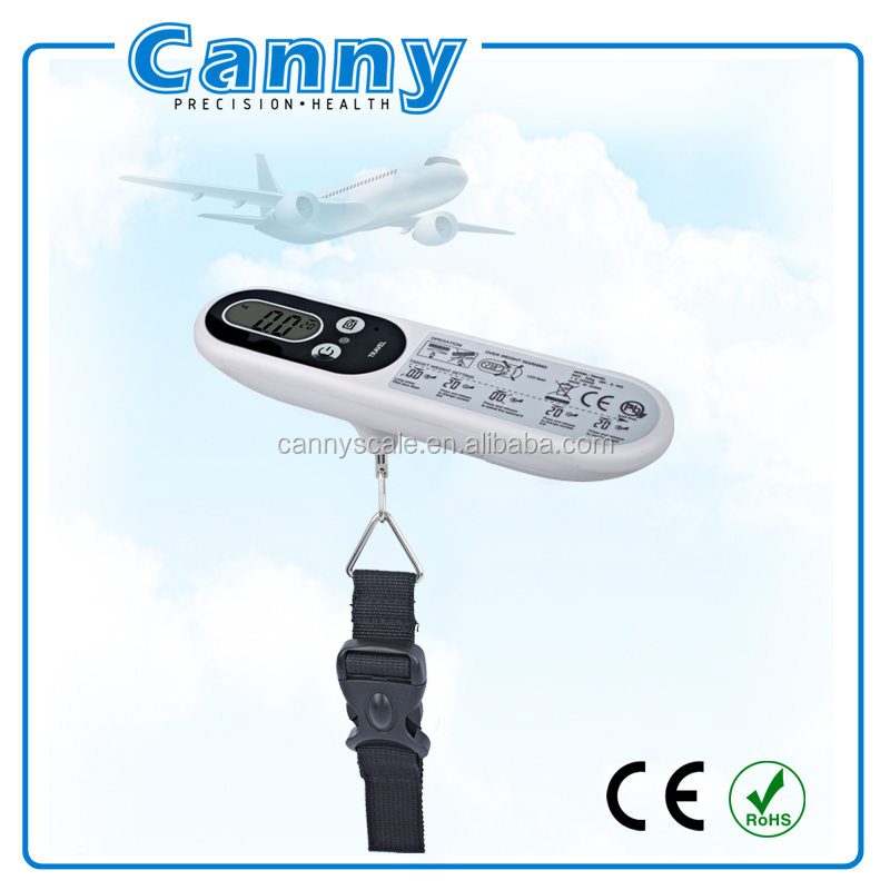 Canny Portable Cheap Digital Weighing Scales, Travel Weighing Luggage Scale