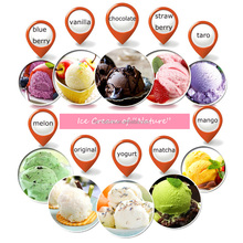 Soft & Hard Serve Ice Cream Powder Mix with Various Flavours