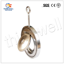 Stainless steel wafer type Flap check valve For Diesel