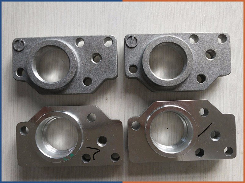 hot selling precision sand casting parts with sand blasting