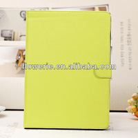FL2704 2013 Guangzhou hot selling Slim Magnetic Folio Stand PU Leather Flip Smart Case Cover for ipad air