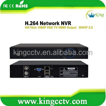 h.264 16ch megapixel nvr 1080p Support IE Chrome Firefox Safari Mobile Phone(HK-NVR5216F)