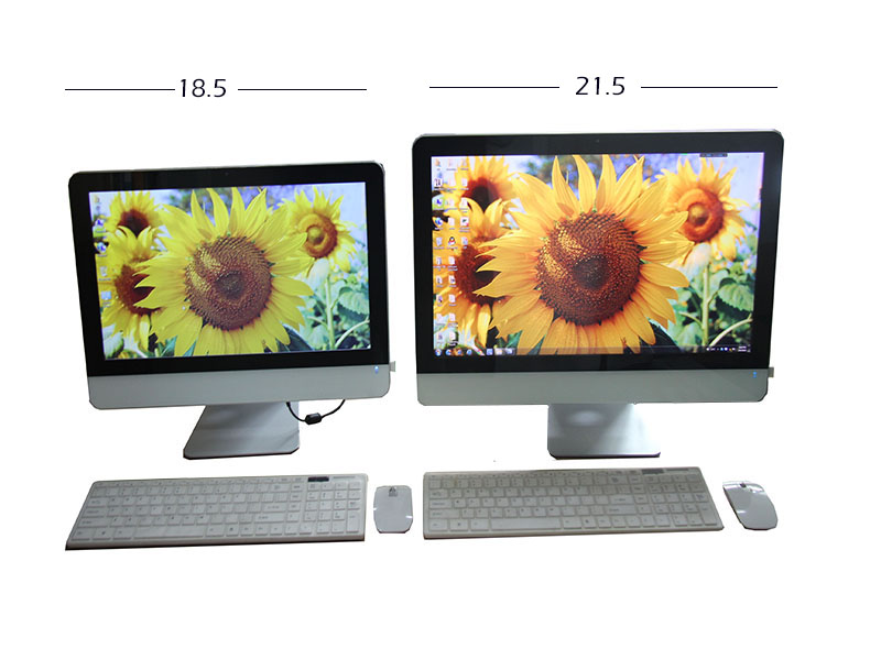 """made in china factory 21.5"""" quad core Intel i7 1080P all-in-one PC 4GB sata 500G 1TB DDR3 desktop laptop computer all in one pc"""