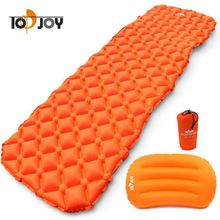 New Released Ultralight Self Inflating Sleeping Pad with Attachted Pillow,Light Weight Sleeping Mat