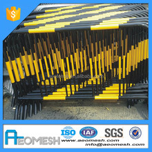 AEO Iron Bicycle Barricades, Classical Interlocking Crowd Control Barrier