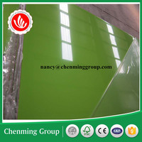 18mm high glossy UV coated MDF board/UV slot MDF