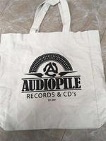 New design cotton canvas tote bag with low price