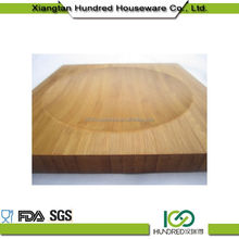 First Grade New Coming square bamboo cheese board set