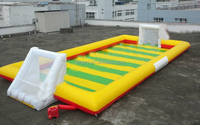 Quality Warranty inflatable football pitch for sports competition