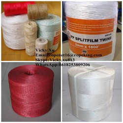 Polypropylene tomato baler twine in agriculture UV protection high strength/Vicky cell:8618253809206