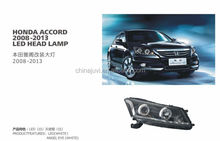 For HONDA ACCORD Auto Lamp Led head lights,Car Accessaries parts,2008-2011 MODIFY LAMP/LIGHTS,angel eye,white