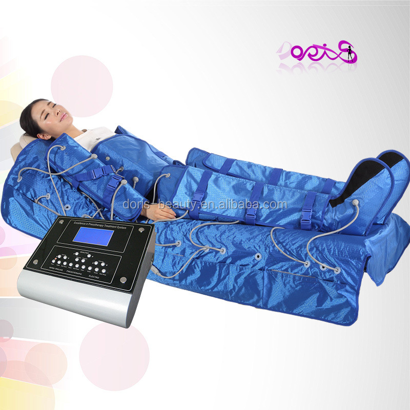 Slim sauna suit air pressure leg massager/lymphatic drainage equipment/far infrared therapy body suit with blanket DO-S04-2