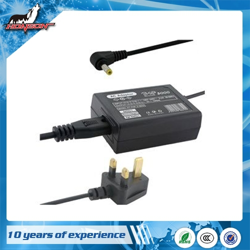 1000 & 2000 & 3000 AC adapter (UK) For PSP