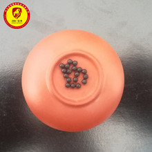 Clear 5mm silicone rubber ball