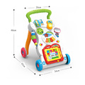 Laugh & Learn Smart Stages Learn ,Sit-to-Stand Learning Walker,Starts Walker Baby Toys