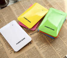 (Factory Supply) Wholesale Slim Power Bank 4000mAh for iPhone/Android, Ultra Thin Power Bank 4000mAh for Gift