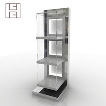 Specially Customized Corner Wholesale Glass Display Cabinet And Display Case