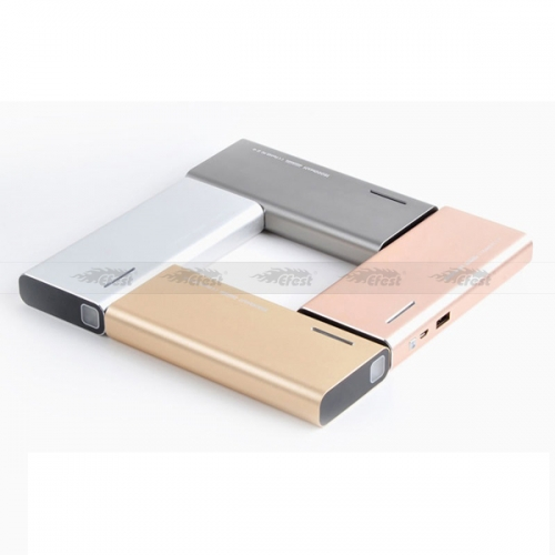 High Quality Efest X6 Colorful Power Bank 10000mah in Gold, Silver and Rose gold