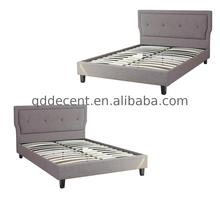 Different Models of french fabric bed with rattan for home use