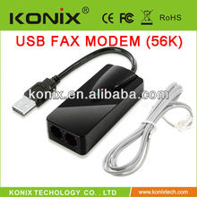 external fax modem usb 56K to connect to the Internet through dialup