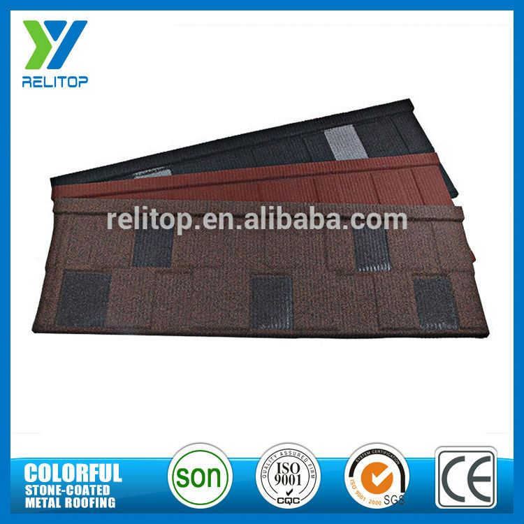 Reasonable Price Stone Coated Types Of Roof Tiles