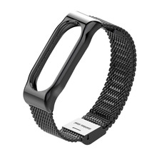 Stainless Steel metal Strap for miBand 2 band