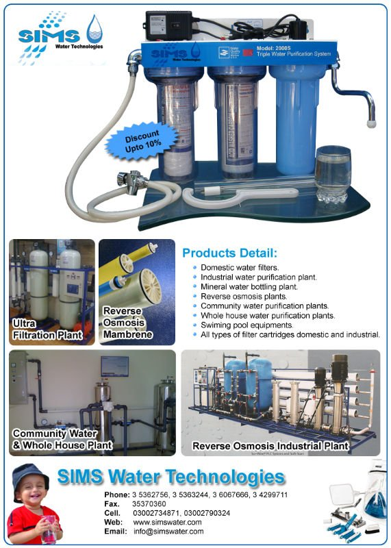 drinking water purifier for karachi pakistan