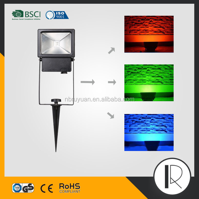 m063019 10W outdoor LED Flood light/LED Projector/RGB remote led floodlights