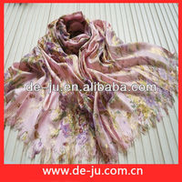 Thin Fabric Shawls 100% Cotton Large Printed Scarves