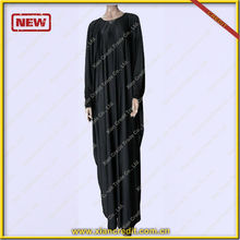 New fashion women abaya black abaya hot selling in UK