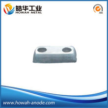 Cast Aluminum Anode for Marine Hull Cathodic Protection