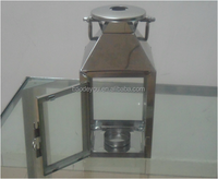 decorative metal hanging lantern stand for weddings