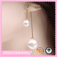 Wholesale China double pearl earring designs for sale