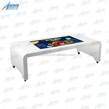 "55"" Multimedia Interactive Display Show System table top touch screen"