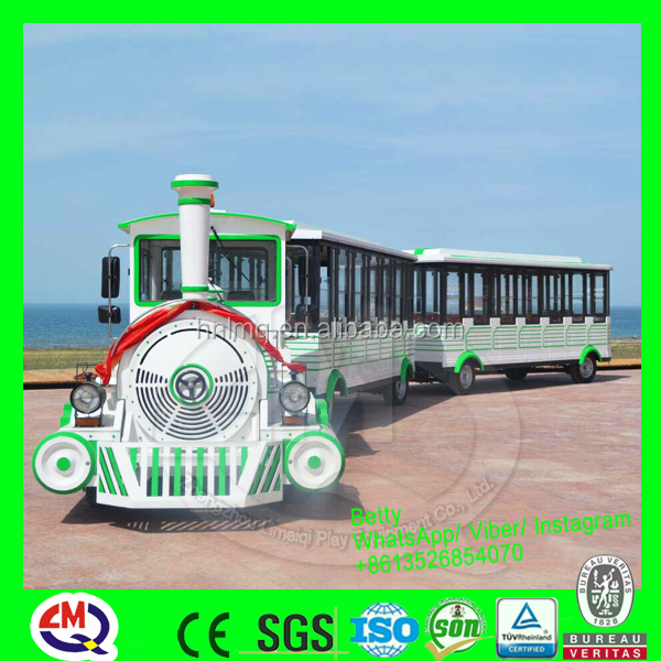 Electric Sightseeing Bus & electric road train, diesel tourist train without track