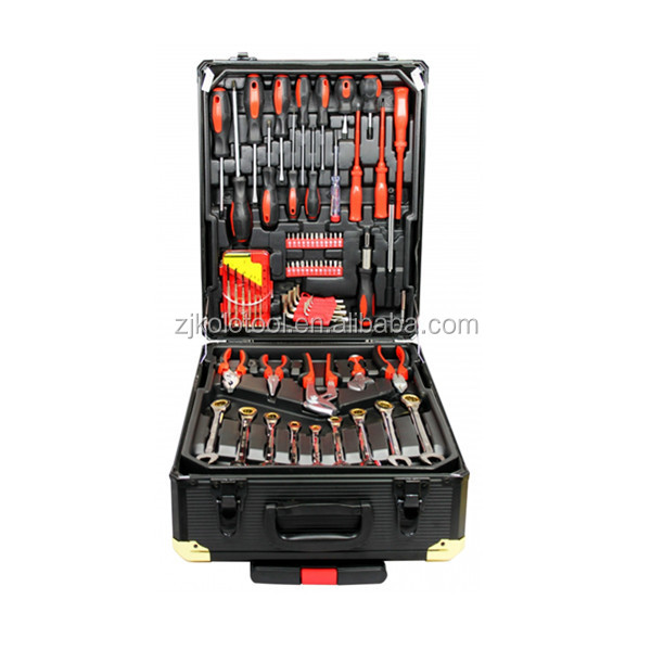 New Germany Kraft Tools Sets With186pcs Aluminum Case,Swiss Kraft Made In China