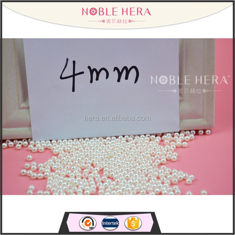 4mm round loose pearls for wholesaling