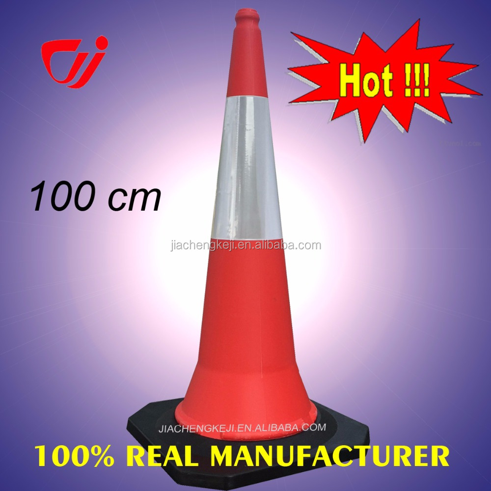 1 meter Reflective plastic Traffic Cones for sale