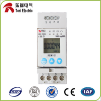 REM101 2 module AC active small volume energy meter smart electricity meter