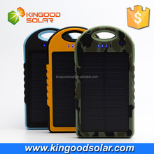 Portable mobile phone solar charger for 2016 new products Waterproof 12000mah solar charger