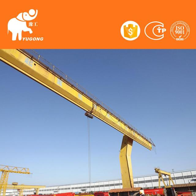 Very Popular 50Ton Electric Hoist Gantry Crane Price Design Calculations With Hook For Project