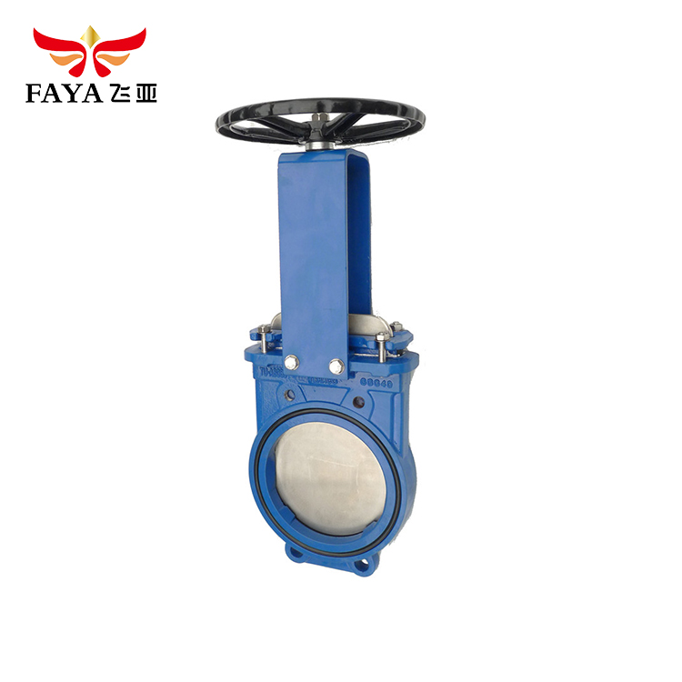 Factory Supply cast iron carbon steel bronze lugged knife gate valve