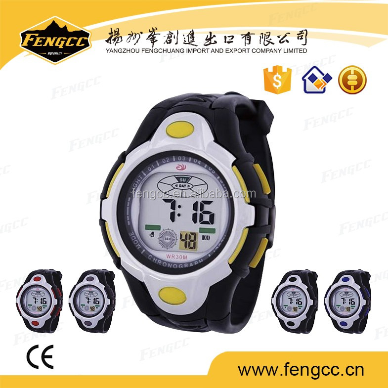 2016 smart custom logo plastic waterproof automatic watch