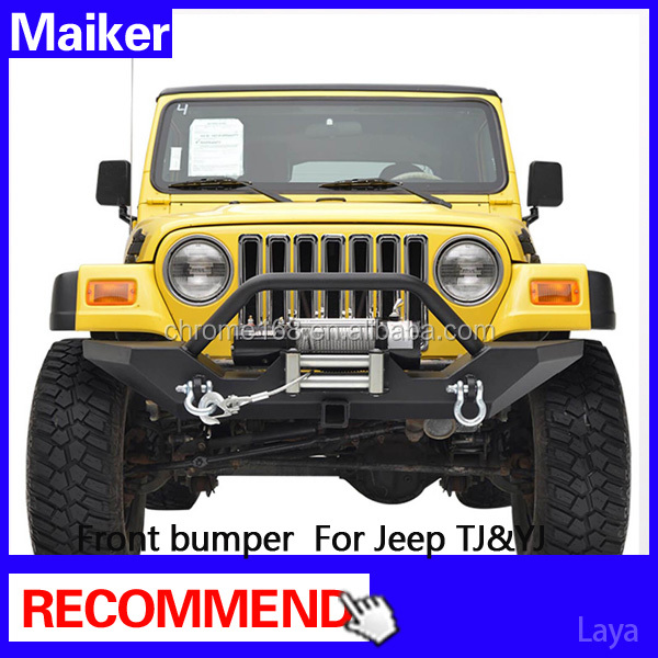 front bumper guard for jeep wrangler TJ/YJ accesssories from maiker